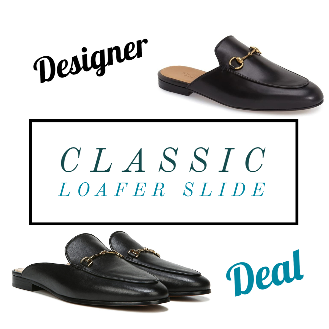 classic loafer slide affordable version gucci