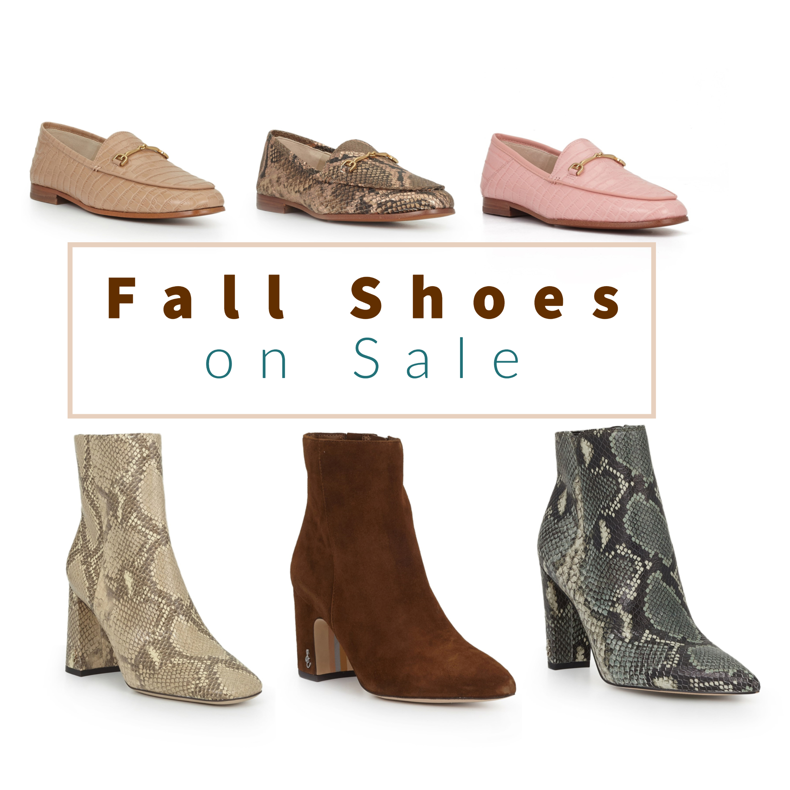 fall shoe sale
