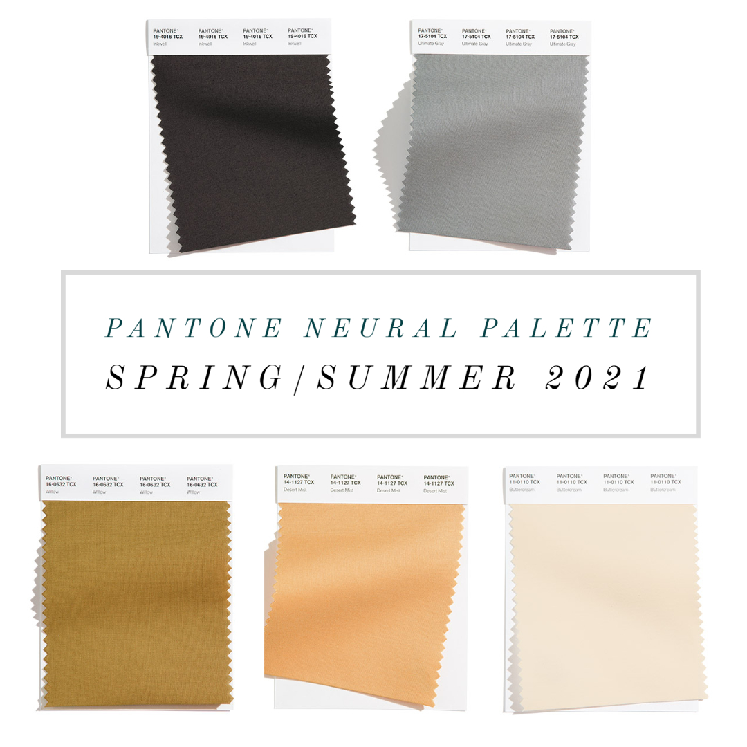 neutral color trends nyfw pantone spring 2021