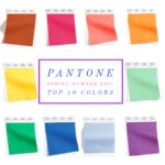 Spring 2021 Colors Trends from Pantone and NYFW