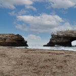 Natural Bridges State Beach sea arch