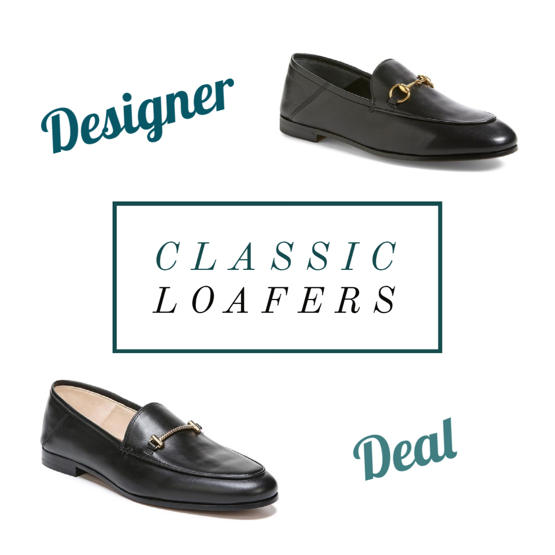 classic loafers designer or deal