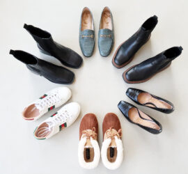 holidays 2020 shoe capsule wardrobe