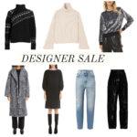 Designer clothing sale winter 2021