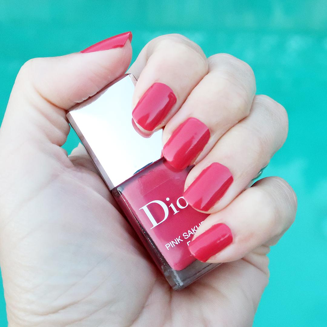dior pink sakura nail polish dior nail polish spring 2021