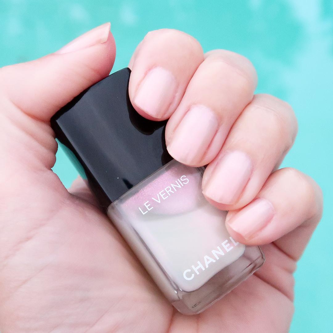 chanel perle blanche nail polish spring 2021