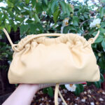 Mansur Gavriel mini Cloud clutch review