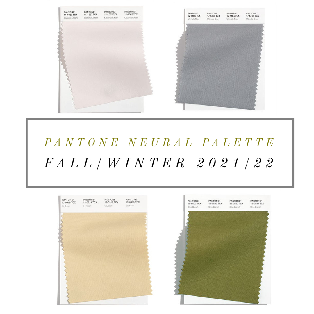 neutral color trends fall 2021 pantone nyfw