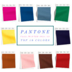 Fall 2021 color trends from Pantone and NYFW
