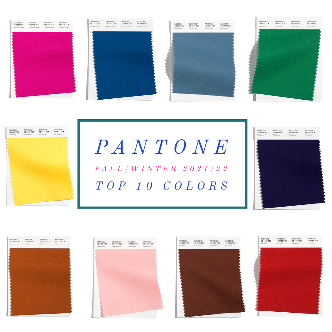 fall 2021 color trends nyfw pantone