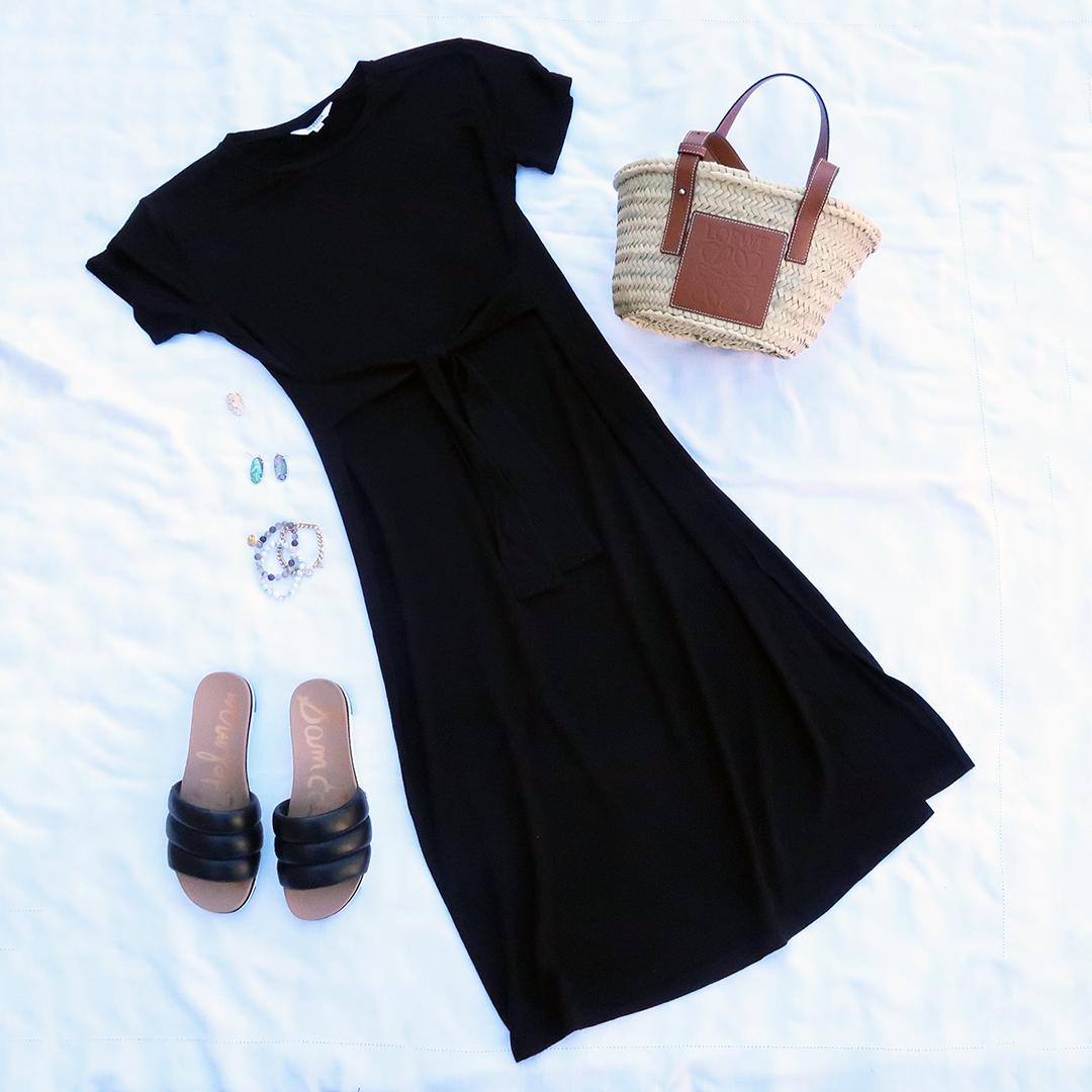 spring dresses capsule wardrobe