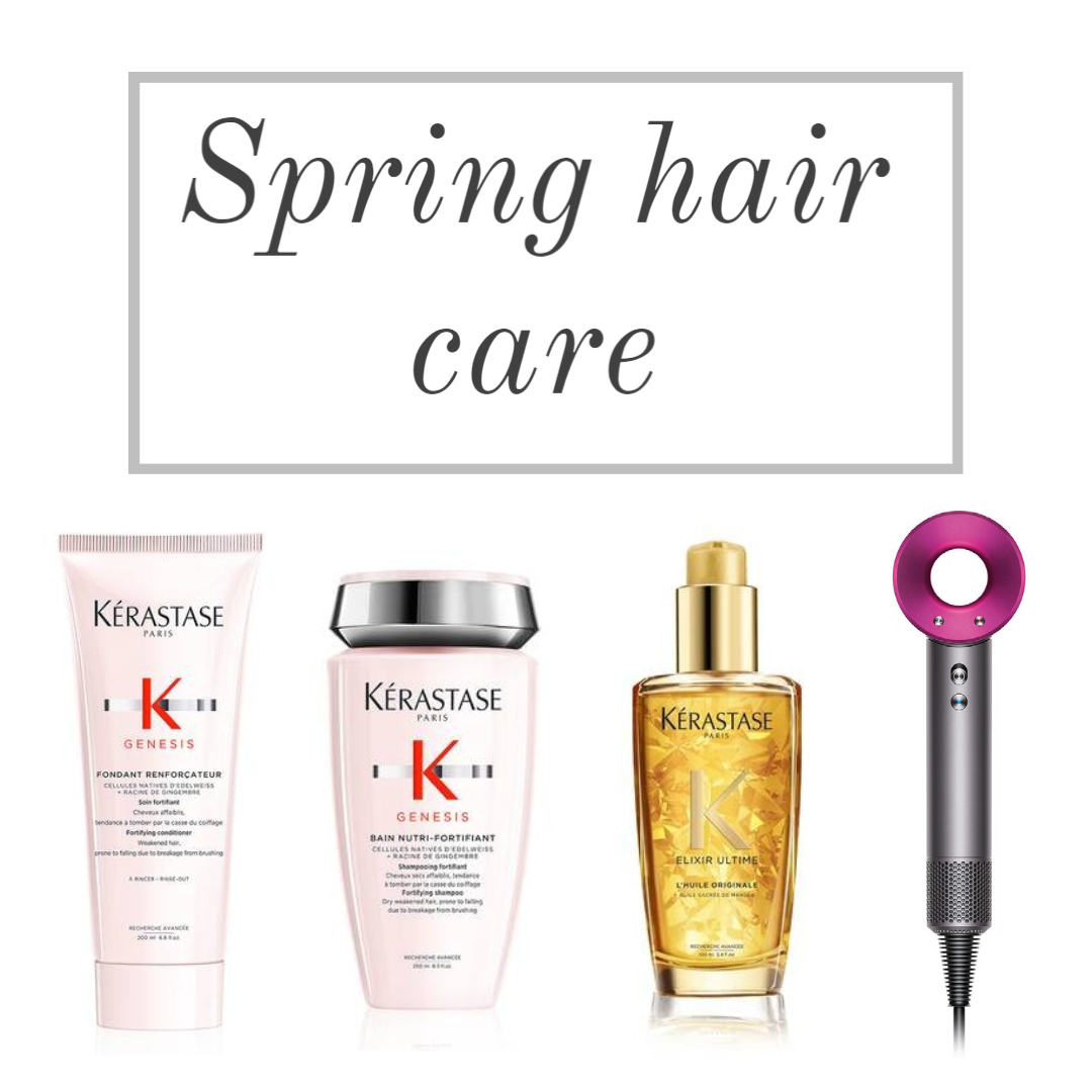 spring hair care essentials