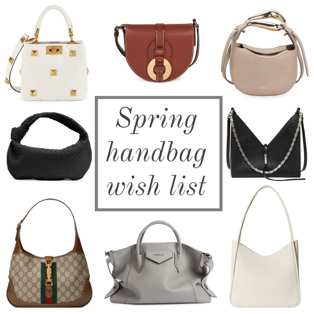 spring 2021 handbag wish list it bags