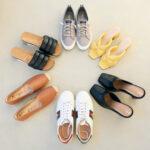 Spring 2021 shoe capsule wardrobe