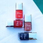 Dior nail polish summer 2021 review Summer Dune