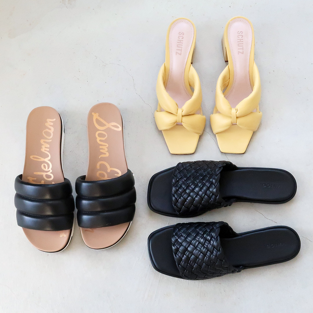 summer sandal trends slides