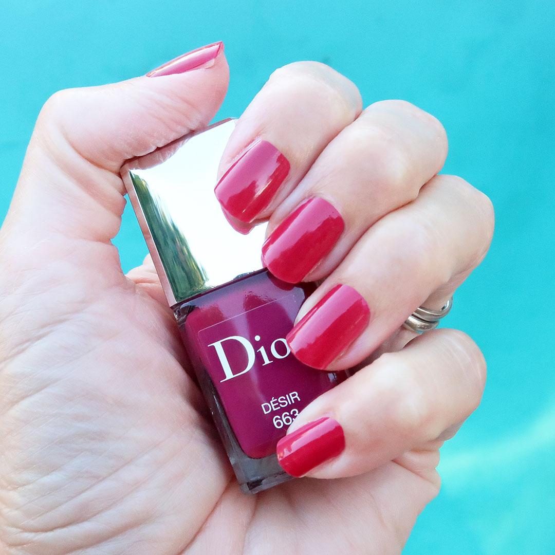 dior pre fall 2021 nail polish