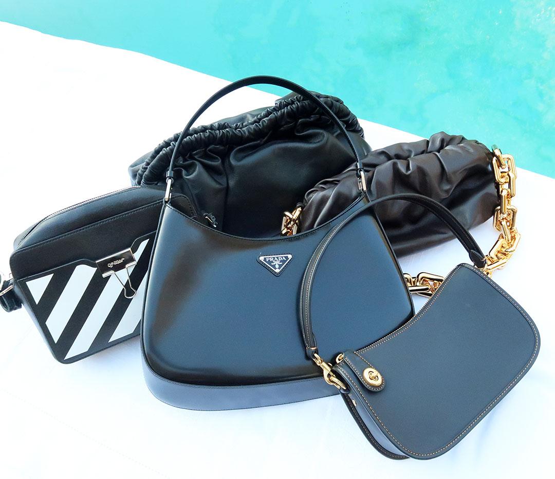 fall handbag capsule wardrobe 2021