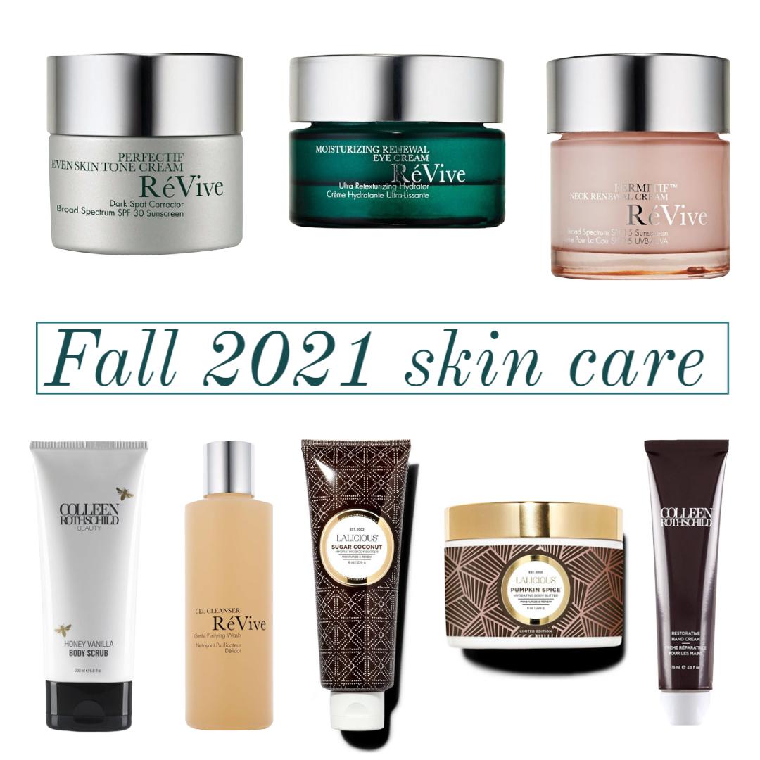 fall 2021 skin care routine
